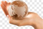 Сlipart Globe Human Hand World Map Holding Environment photo cut out BillionPhotos