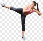 Сlipart dancer woman human move tiptoe photo cut out BillionPhotos