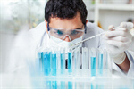 Сlipart Man with tube lab researcher research scientist photo  BillionPhotos