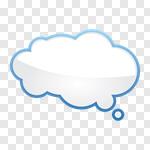 Сlipart Thought Bubble Bubble Speech Bubble Cloud Speech vector cut out BillionPhotos