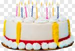 Сlipart Birthday Birthday Cake Cake Candle Anniversary photo cut out BillionPhotos