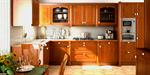 Сlipart Domestic Kitchen Cabinet Hardwood Floor Granite cabinetry 3d  BillionPhotos
