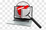 Сlipart File Computer Internet Searching Computer Software 3d cut out BillionPhotos
