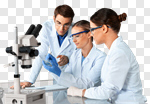 Сlipart Laboratory Biotechnology Research Scientist Microscope photo cut out BillionPhotos