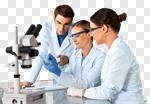 Сlipart Laboratory Biotechnology Research Scientist Microscope photo cut out BillionPhotos