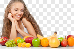 Сlipart Women Fruit Dieting Eating Healthy Lifestyle photo cut out BillionPhotos