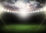 Сlipart night stadium field bright grass   BillionPhotos