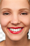 Сlipart Human Teeth whitening Smiling White Women photo cut out BillionPhotos
