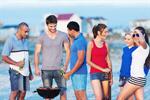 Сlipart bbq beach young group grill photo  BillionPhotos