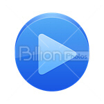 Сlipart play next forward button push button vector icon cut out BillionPhotos