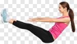 Сlipart abs aerobics app application attractive photo cut out BillionPhotos