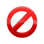 Сlipart cancel no prohibition error stop vector icon cut out BillionPhotos
