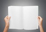 Сlipart Magazine Blank Book Spread Open   BillionPhotos