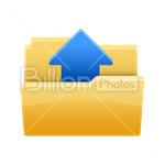 Сlipart Folder Opened Folder File Computer Icon Shortcut vector icon cut out BillionPhotos