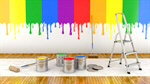 Сlipart Paint Colors Painting House Painter Wall 3d  BillionPhotos