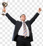 Сlipart Winning Award Trophy Business Success photo cut out BillionPhotos