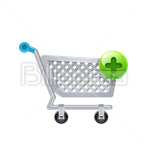 Сlipart Shopping Cart Shopping Buy Buying E-Commerce vector icon cut out BillionPhotos