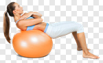 Сlipart Pilates Fitness Ball Exercising Ball Sport photo cut out BillionPhotos