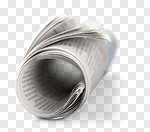 Сlipart Newspaper Rolled Up The Media Paper Reading photo cut out BillionPhotos