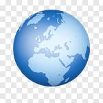 Сlipart Globe Earth World Map Map Planet 3d cut out BillionPhotos