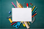 Сlipart desk school background back closeup   BillionPhotos
