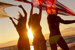 Сlipart Beach Party Summer Dancing Teenager photo  BillionPhotos