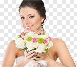Сlipart bride background makeup winter model photo cut out BillionPhotos
