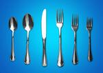 Сlipart fork knife spoon tableware chrome   BillionPhotos