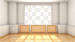 Сlipart Window Domestic Room Indoors Empty Inside Of 3d cut out BillionPhotos