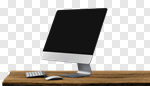 Сlipart desktop desk monitor blank screen photo cut out BillionPhotos