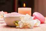Сlipart spa pink spa treatment sea salt bowl nobody photo  BillionPhotos