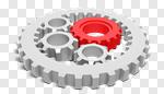 Сlipart Gear Teamwork Machine Part Vehicle Part Three-dimensional Shape 3d cut out BillionPhotos