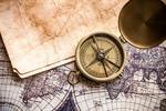Сlipart Map Old Compass Globe World Map photo  BillionPhotos