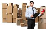 Сlipart retail portrait clipboard delivering courier   BillionPhotos