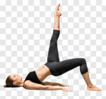 Сlipart yoga woman stretching human activity photo cut out BillionPhotos