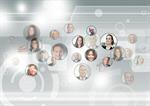 Сlipart virtual team leader attractive map vector  BillionPhotos