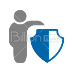Сlipart Protection Antivirus Shield Safety Security vector icon cut out BillionPhotos