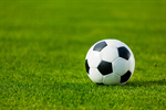 Сlipart Soccer Ball Ball Grass Track and Field Stadium Panoramic photo  BillionPhotos