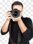 Сlipart Photographer Camera Photography Lens Photo Shoot photo cut out BillionPhotos