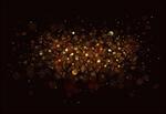 Сlipart gold light dust background black vector  BillionPhotos